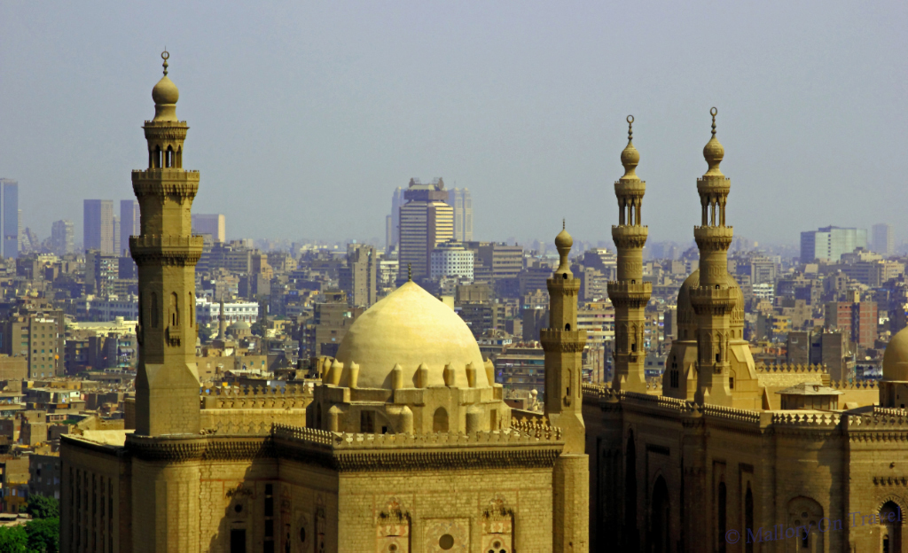 Postcard From The Cairo Skyline Egypt Mallory On Travel