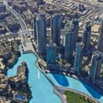 Burj Khalifa, Dubai; View from the top of the World