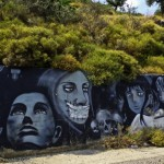 Street Art Gallery on the Road to Sparta