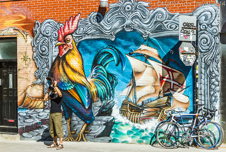 Travel in canada montreal street art mural festival for Art mural montreal