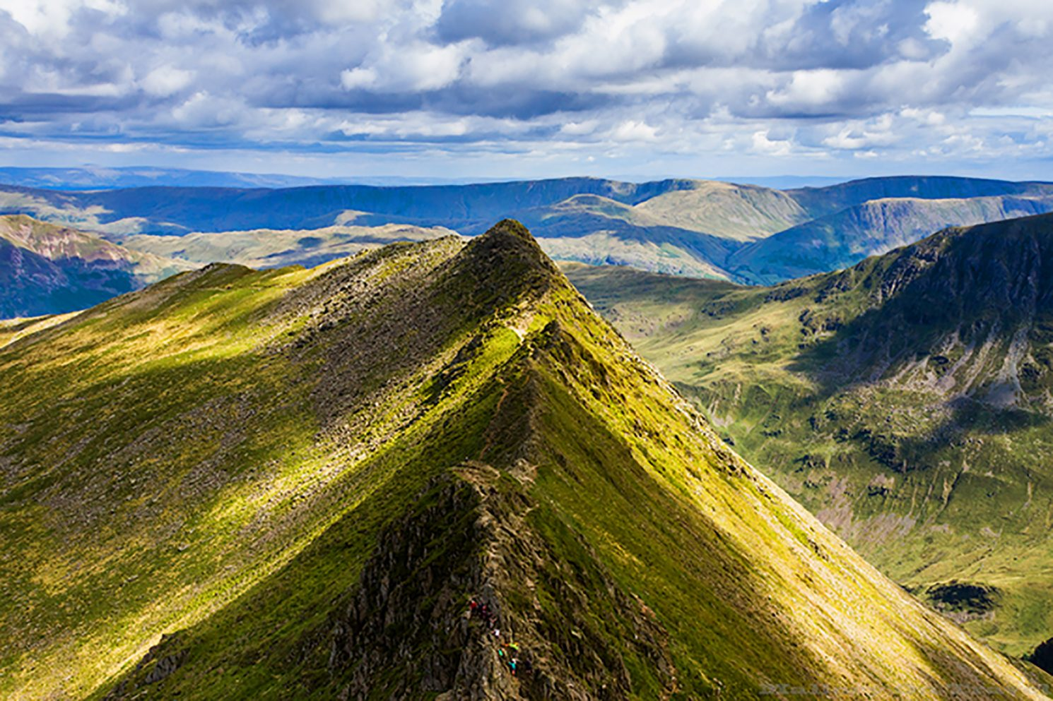 Striding Edge, famous scramble on Helvellyn in the English Lake District on Mallory on Travel adventure, adventure travel, photography Iain_Mallory_Can14015631 striding_edge