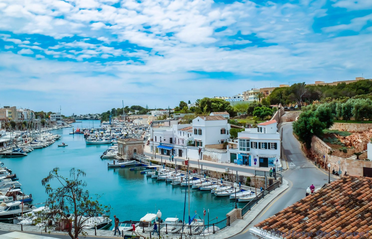 The harbour of Ciutadella second city on the Balearic island of Menorca, Spain on Mallory on Travel adventure travel, photography, travel Iain Mallory_Menorca3051