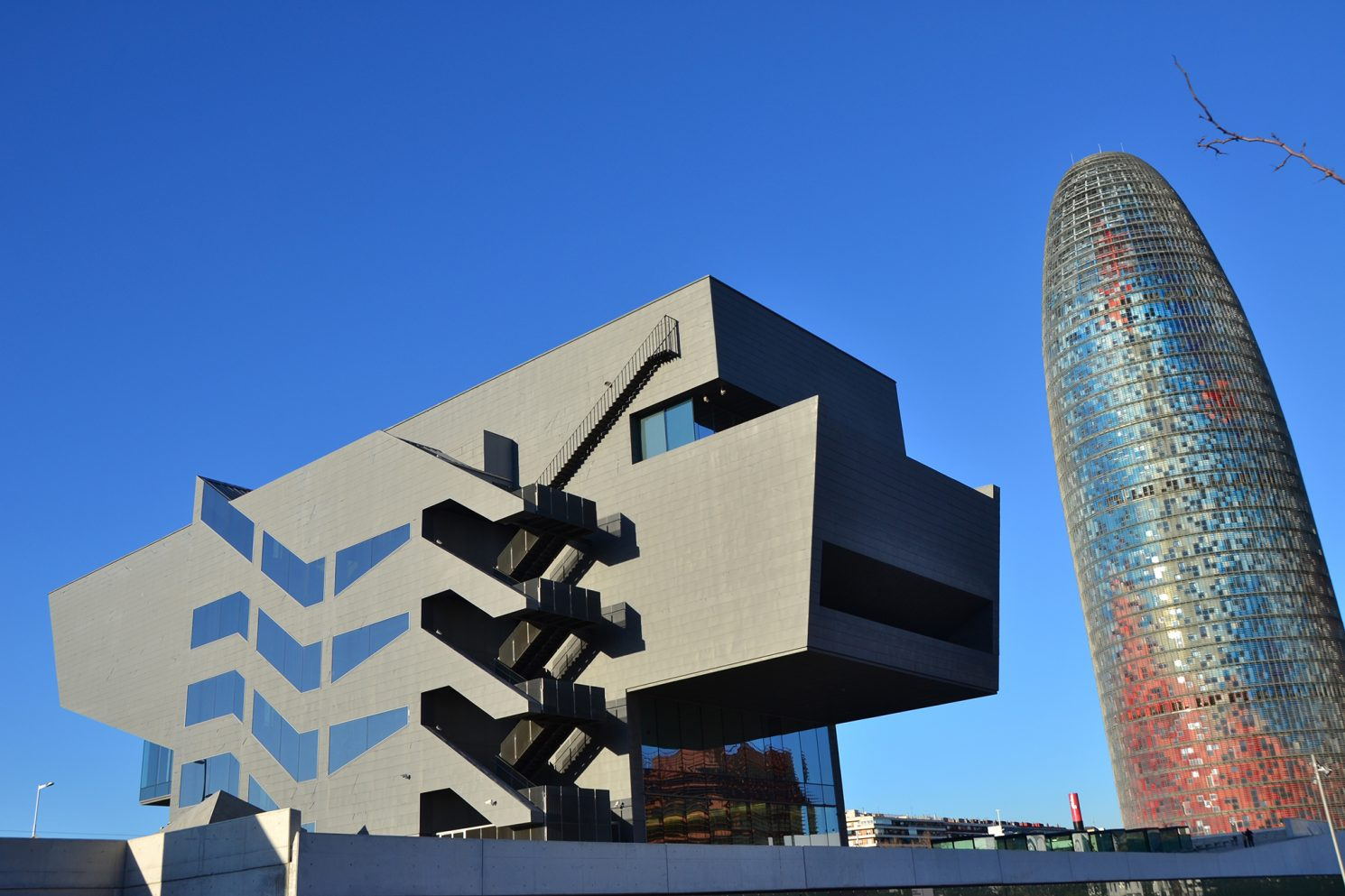 Design Museum and Torre Agbar in Barcelona, Catalonia in Spain; Guest post by Duncan Rhodes for the travel thruster series on Mallory on Travel adventure travel, photography, travel