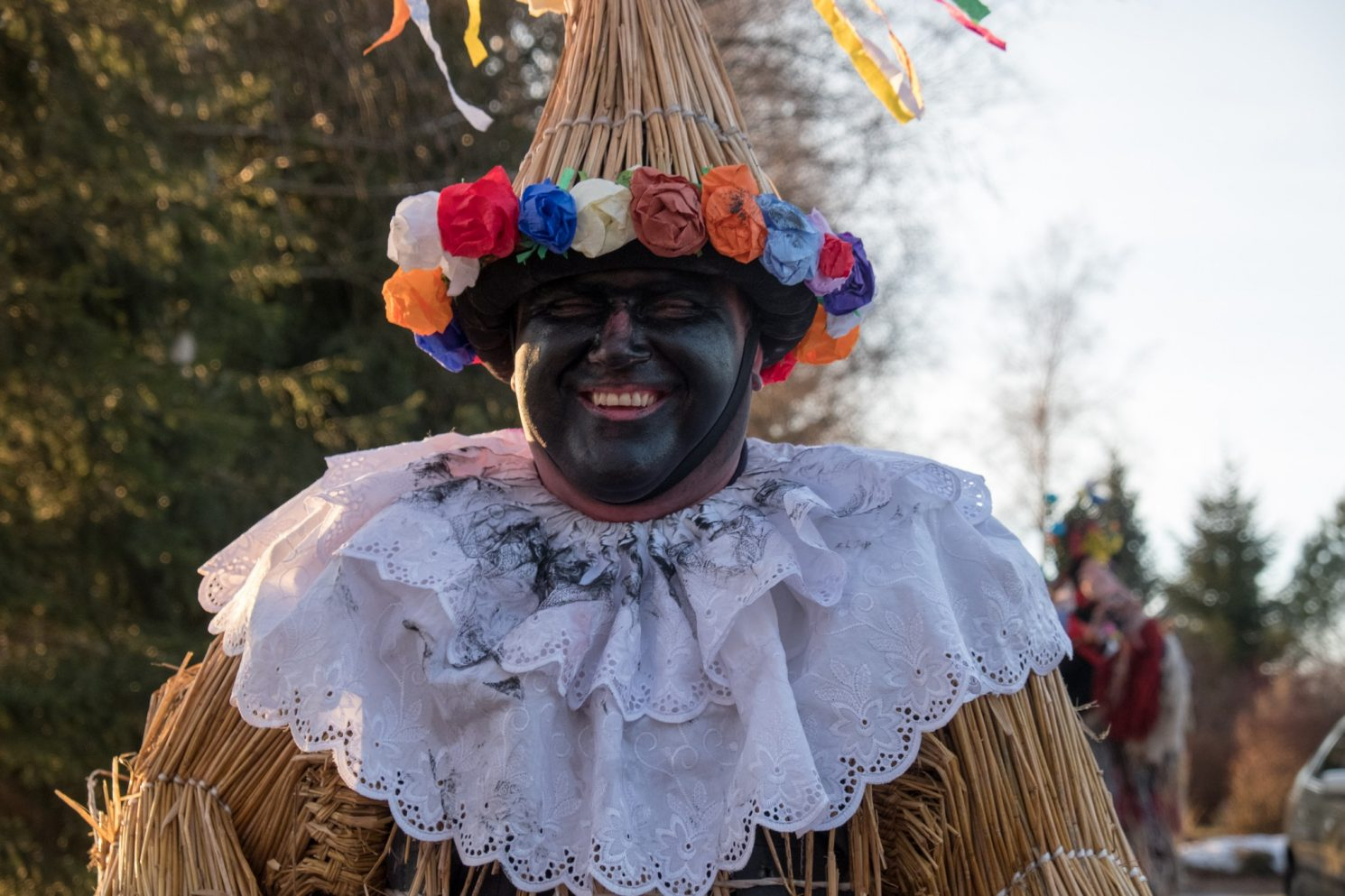 "A strawman at ""Masopust"" carnival in the Czech Republic on Mallory on Travel adventure travel, photography, travel Masupust 2017-11"