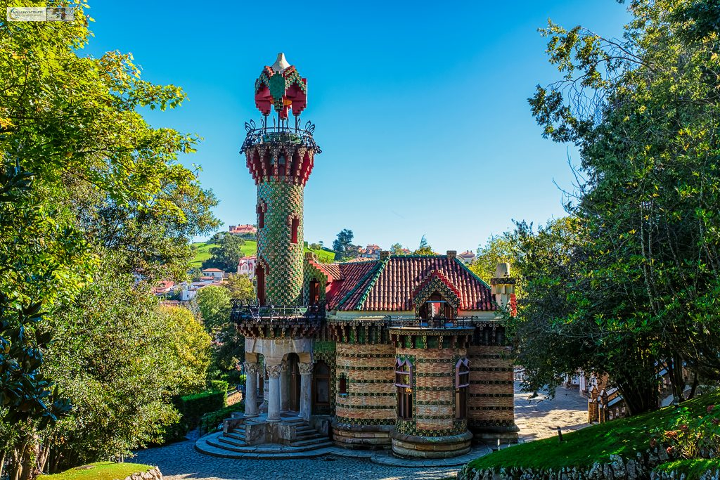 The Antoni Gaudi designed El Capricho in Comillas, Cantabria in the northern Spain region of Green Spain on Mallory on Travel adventure travel, photography, travel Iain Mallory_spain-22