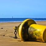 Postcard from Ile de Ré, beach bouys and beacons