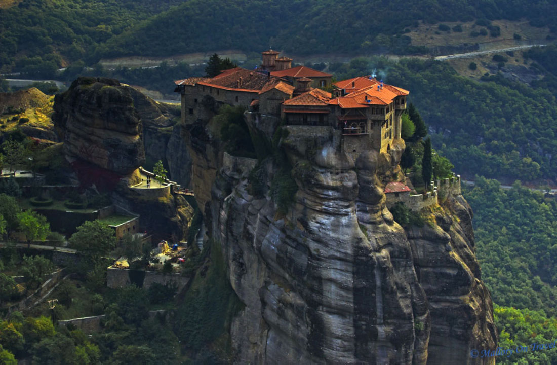 Grand Meteora viewpoint in Thessaly, Greece on Mallory on Travel adventure, photography Iain_Mallory_044899