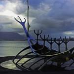 Postcard from Reykjavik Viking Ship