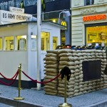 Postcard from Checkpoint Charlie, Berlin