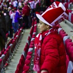 Postcard from Poland; a Football Fan