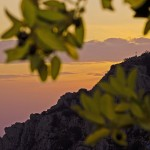 Postcard from a Pelion sunset