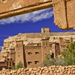 Postcard from the Ait Benhaddou kasbah, Morocco