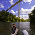 Postcard from the Millau Viaduct, French Aveyron