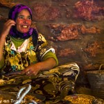 Postcard from an Argan oil co-operative, Morocco