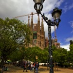 Postcards from Barcelona's famous Gaudi landmark