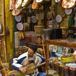 Postcard from a Gnawa jam in Essaouira medina
