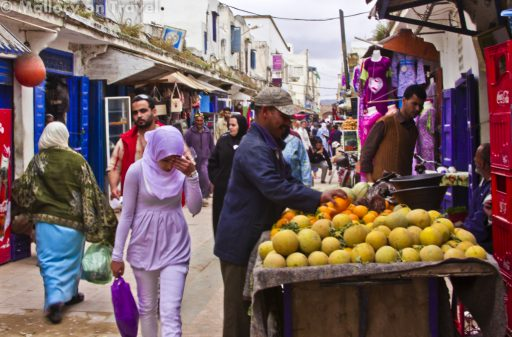 The medina of Essaouira in the windy city of Morocco on Mallory on Travel adventure photography Iain_Mallory_071811