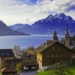Postcard from Switzerland; Lucerne & Mt Pilatus