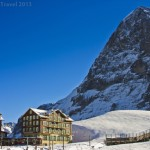 Skiing in the Shadow of the Eiger