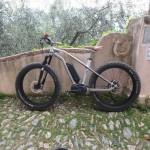 Riding ebikes in Liguria, Italy