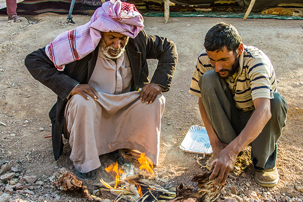 Coffee making in a nomadic Bedouin camp in the Syrian desert, Jordan on Mallory on Travel adventure travel, photography, travel Iain_Mallory_Jordan1408620