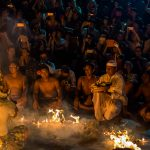 Kecak Fire Dance Performance, Uluwatu Temple
