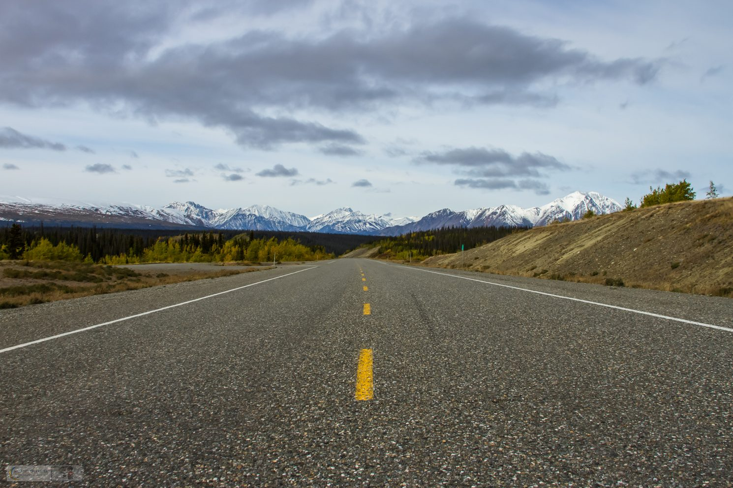 A road trip in the Yukon, Canada, miles of open road in the wilderness of Kluane National Park on Mallory on Travel adventure travel, photography, travel Iain Mallory_Yukon-1-27