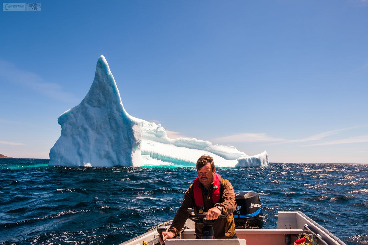 Iceberg chasing near Petty Harbour on Iceberg Alley on the Avalon Peninsula of Newfoundland and Labrador, Canada on Mallory on Travel adventure travel, photography, travel Iain Mallory_stjohns-1-6