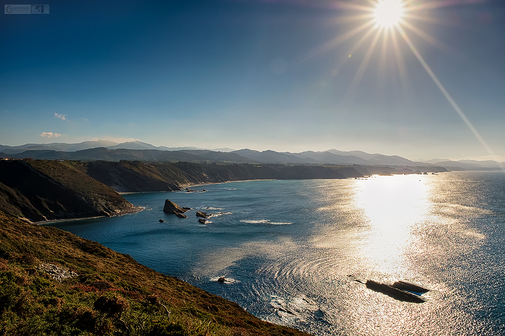 The cliffs of the coast at Cabo Vidio in Asturias in the region of northern Spain known as Green Spain on Mallory on Travel adventure travel, photography, travel Iain Mallory_spain-9