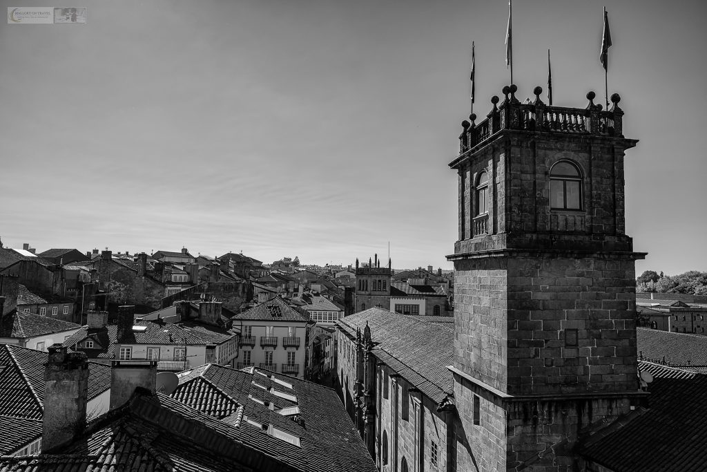 Looking over the city of Santiago de Compostela, Galicia, in the region known as Green Spain in the north of the country Iain Mallory_spain 007-3