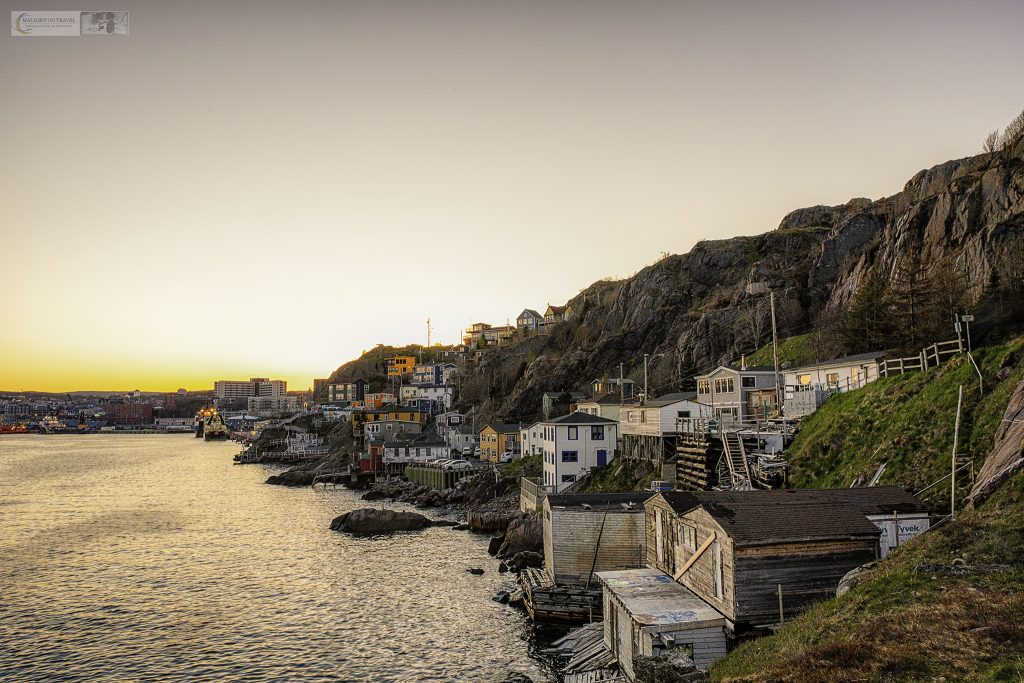 Sunset over the Battery in the harbour of St. John's, capital city of the province of Newfoundland and Labrador, Canada on Mallory on Travel adventure travel, photography, travel Iain Mallory_Newfoundland 003