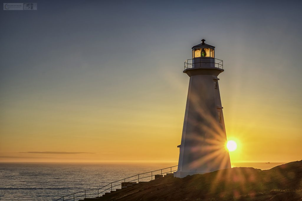 Seeing the first sunset over the lighthouse at Cape Spear, the most easterly point on the north American continent near St. John's capital of Newfoundland and Labrador province, Canada on Mallory on Travel adventure travel, photography, travel Iain Mallory_Newfoundland 004