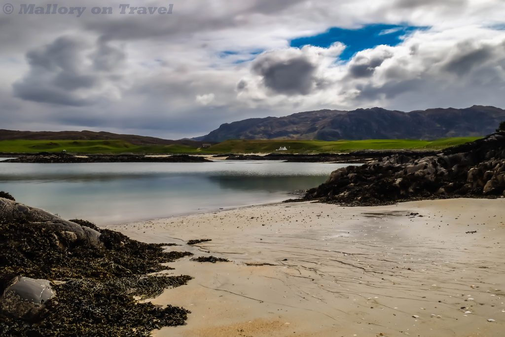 Christmas gift list; Camusdarach Beach near Arisaig, on the western coast of Scotland made famous by the film Local Hero on Mallory on Travel adventure travel, photography, travel Iain Mallory_Scotland3766