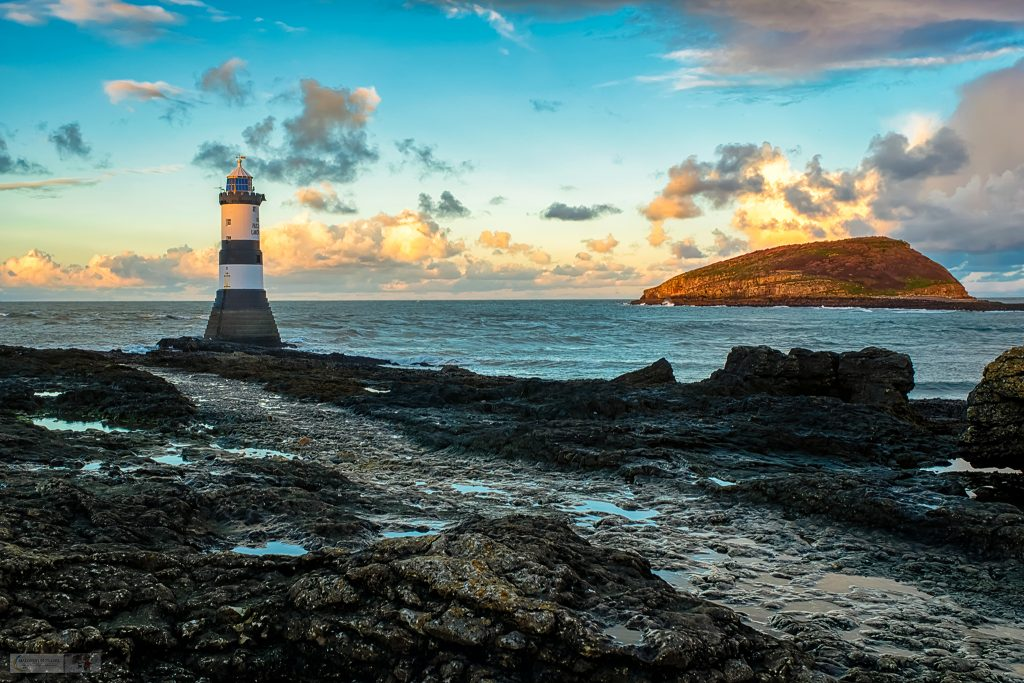 Christmas gift list; Trwyn Du, or Black Point, dates from 1838, and guides sailors through the passage between Penmon and Puffin Island, Anglesey on Mallory on Travel adventure travel, photography, travel Iain Mallory_trwyndu-1